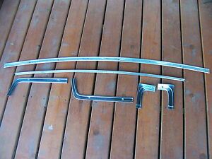 1965 Dodge Coronet 4d Rear Window Trim Set Oem 64 Plymouth Belvedere Savoy