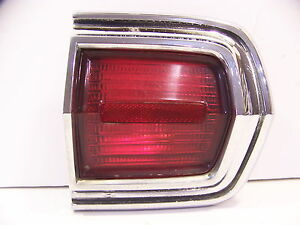 1966 Plymouth Sport Fury Rh Outer Taillight Assy Nice Oem 2606162