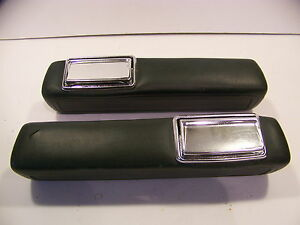 1966 67 68 69 70 Dodge Plymouth B Body 9 Green Arm Rests Road Runner Super Bee