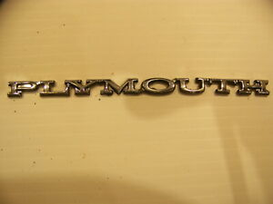 1970 Plymouth Duster Barracuda Emblem Oem 28591 5 1 2