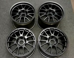 4 Ccw Corsair C14 Forged 18 Wheels Porsche 911 Carrera Turbo Black Rims