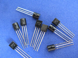 Dip Transistor Assortment Kit 12 Values Each 20pcs total 240pcs