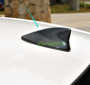 Real Carbon Fiber Roof Shark Fin Antenna Cover Trim For Lexus Rc200t 300 15 19