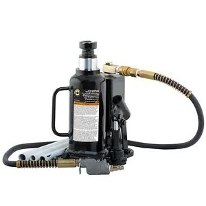 Omega 18124c 12 Ton Air Actuated Bottle Jack