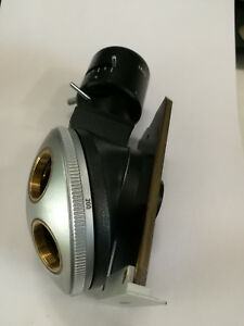 Illuminator Leitz Wetzlar Revolver For Five Lenses For A Microscop Metalloplan