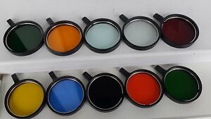 Optical Filters From The Lomo Microscope The Ussr Set