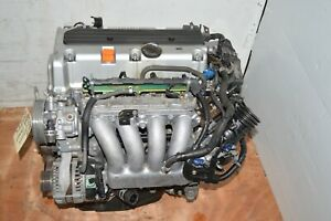 Jdm K24a Motor 03 04 05 06 07 Honda Accord Honda Element 2 4l I vtec K24a Engine