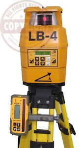 Laser Alignment Lb 4 Dual Slope Self leveling Laser Level topcon trimble spectra