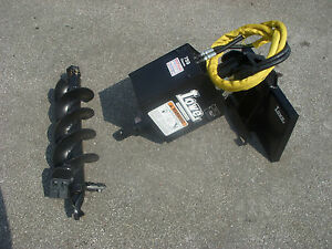 Toro Dingo Mini Skid Steer Attachment Lowe 750 Auger Drive 9 Bit Ship 199