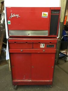Vintage Snap On Tool Box Kr537a Snap On Roller Cabinet