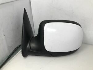 2003 2006 Chevy Avalanche Driver Side View Power Door Mirror White Oem K4157