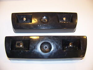 1970 71 Plymouth Valiant Black Arm Rest Bases 2789676 Dodge Dart A Body Mopar