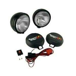 Rugged Ridge Hid Off Road Lights 35w Round 6 Dia Clear Lens 1520551