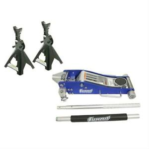 Summit Racing Jack Stand And Floor Jack Combo Sum Csum073