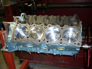 Pontiac 1970 400 Yzgto Ram Air Lll Rebuilt Short Block Forged Pistons 068 Cam
