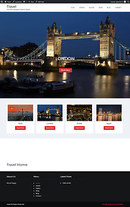 Hotels Flights Website Business Turnkey Custom Built Make Money Affiliate Site