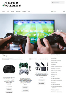 Video Games Website Business For Sale