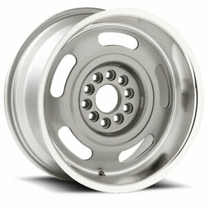 U s Wheel Corvette Rallye 623 17x9 5x120 65 5x127 Et0 Silver machine qty Of 4