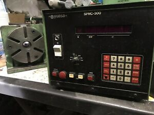 Yuasa Spnc 300 Controller Spdx 6 Programmable Indexer Rotary Table