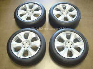 21 2013 20 Range Rover Supercharged Wheels Rims Tires Oem Factory Sc Hse 6002
