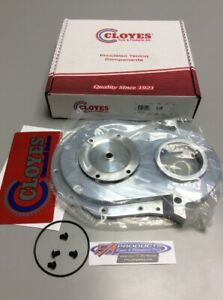 Cloyes 9 231 Big Block Chevy Quick Button Adjustable Aluminum Timing Cover