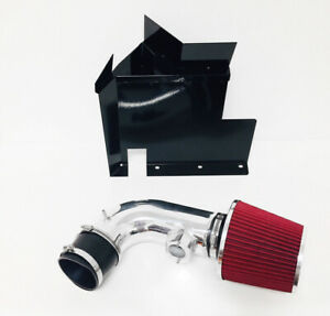 Black Red For 2007 2011 Bmw 128i 328i 3 0l 6cyl Heat Shield Cold Air Intake
