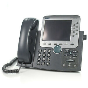 Cisco 7970 Cp 7970g 8 line Ip Voip Color Display Touch Screen Office Phone No Ac