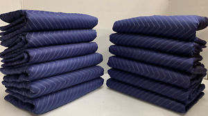 12 Moving Blankets 80 X 72 Pro Economy Packing Quilted Shipping Furniture Pad