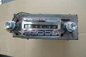1958 To 1960 Corvette Wonderbar Radio Will Also Fit 1961 1962 Corvettes