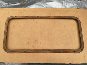 1930 1931 1932 1933 1934 Model A Ford Pickup Truck Rear Window Frame Hot Rat Rod