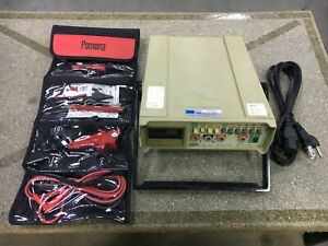 Fluke 8010a Digital Multimeter W pomona Test Leads And Power Cord