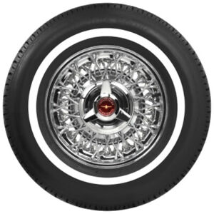 Coker P215 75r14 American Classic Radial Tire 1 Whitewall