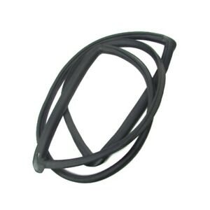 Windshield Rubber Weatherstrip Seal With Trim Groove For 1963 1965 Falcon comet