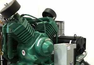 Champion Air Compressor 7 5 Hp 2 stage 1 phase 80 Gal Horizontal Industrial