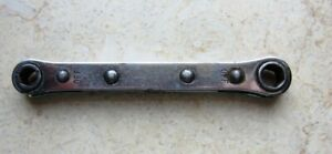 Vintage Snap On Ratcheting Box Wrench 1 4 5 16