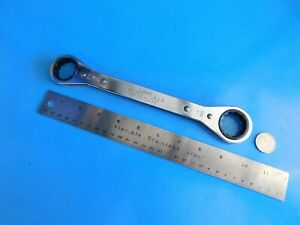 Used Snap On Tools 15 16 X 1 In Flat Ratchet Wrench Part r3032