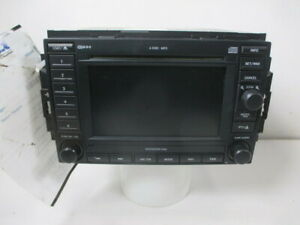 2007 Chrysler 300 Navigation Cd Dvd Player Radio Rec Oem