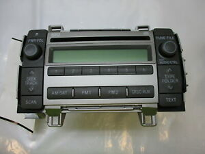 09 10 Toyota Matrix Cd Player Radio Oem 11819 Lkq