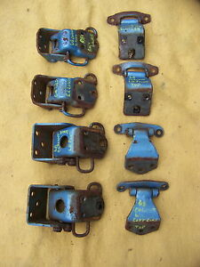 1968 Dodge Coronet Station Wagon Door Hinges Oem 4 Door