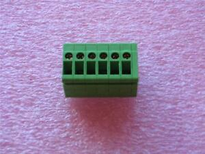 Phoenix Top Terminal Blocks 6 Position Connector Qty 4 New