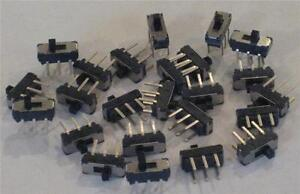 Apem Ms22 Micro mini Slide Switch On on Dpdt 1000 Pcs New