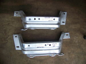 1968 1969 Plymouth Satellite Gtx Road Runner Bumper Brackets 2856850 2856851