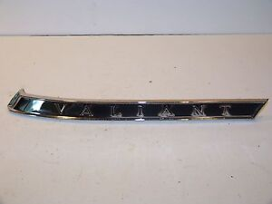 1963 Plymouth Valiant Rh Roof Pillar Trim 2243294