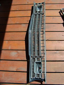 1973 1974 Plymouth Duster Grill W Trim Scamp Valiant Oem