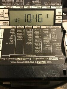 Simplex 100 Black Time Recorder Electronic Time Clock 1603 9109
