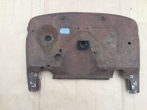 Late 1931 Model A Ford Firewall Indented Body Cowl Hot Rat Rod Coupe Roadster 31