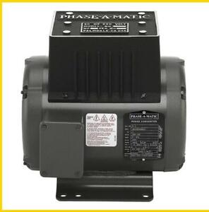 R 3 2 Hp 220 Vac Phase a matic Rotary Phase Converter