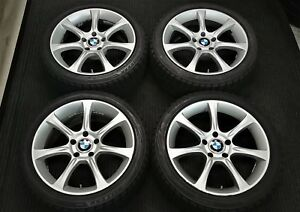 4 Bmw 18 Wheels Winter Snow Tires E60 545i 525i 530i 535i 550i E90 E92 M3