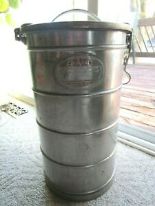 Aervoid Stainless Steel Thermal Food Carrier Can 11 Gallon Estate