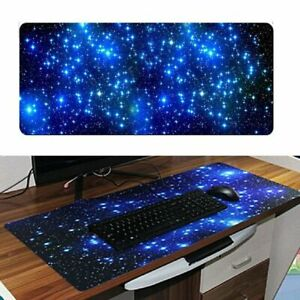 Extend Large Galaxy Gaming Mouse Pad Non slip Keyboard Mat For Laptop Computer